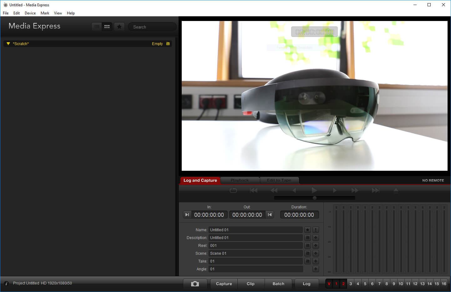 How to set up HoloLens Spectator View, Part 2 - Camera Configuration