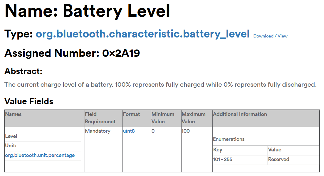 How to Read the Battery Level of Bluetooth LE Devices – andreasjakl com