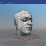 MRI 3D Model visualized in Windows 10 3D Builder