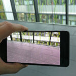 ARCore - Plane Detection running on the Google Pixel 2