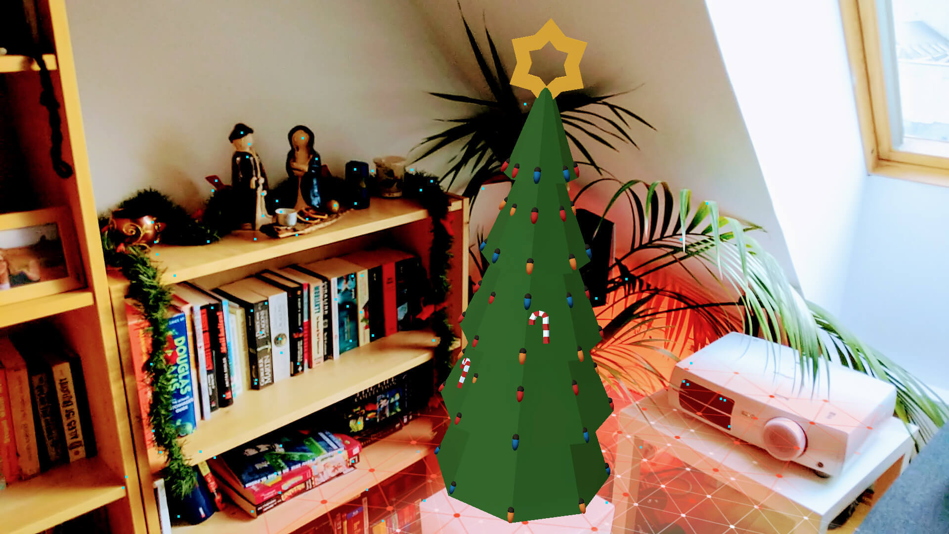 Christmas Tree with Google ARCore