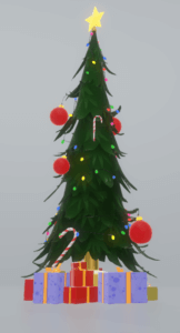 Christmas Tree by Microsoft